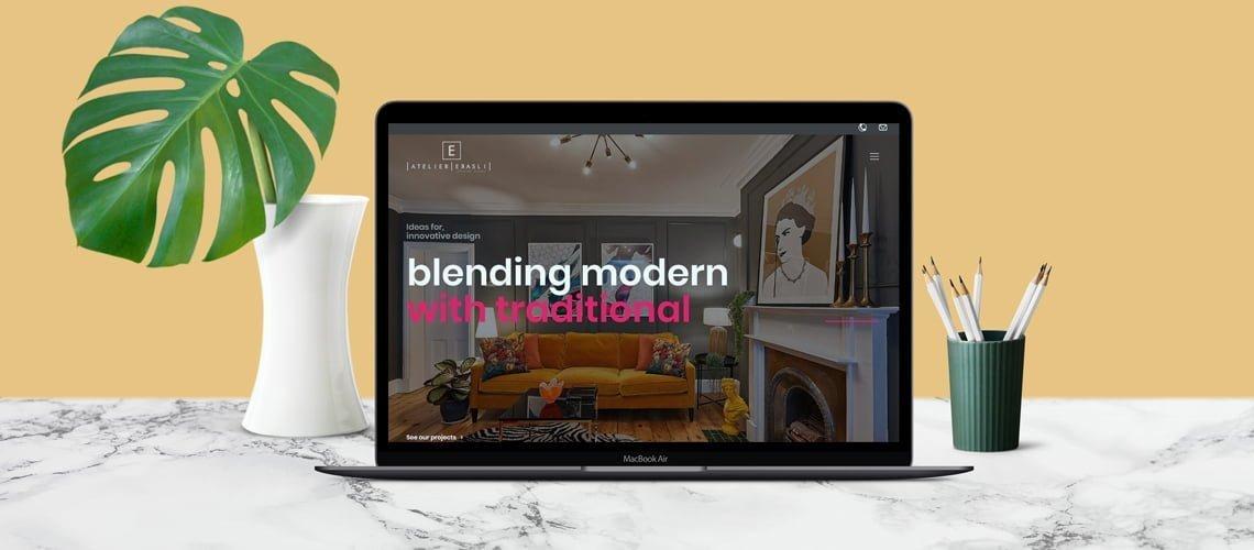 Atelier Erasli Web Tasarımı