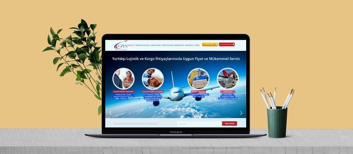 Gpex Cargo Web Tasarımı