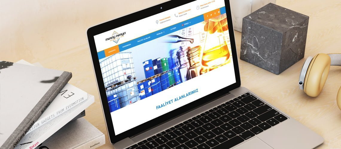 Miray Kimya Web Sitesi