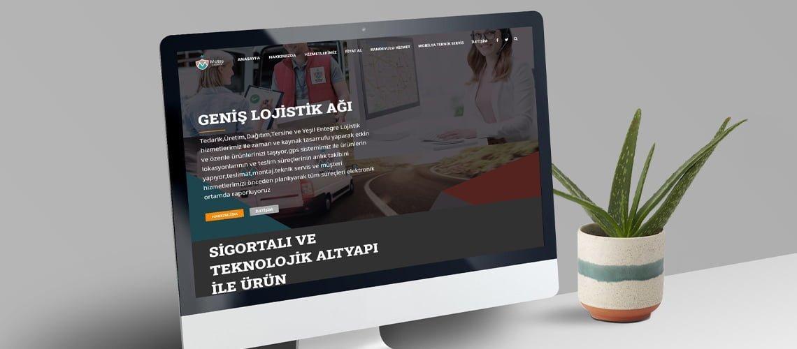 Motaş Lojistik Web Sitesi