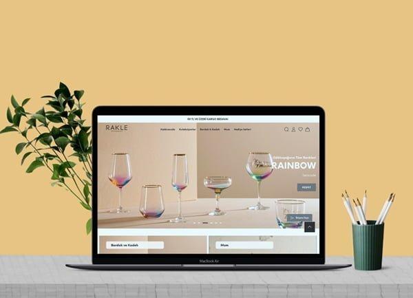 Rakle E-Ticaret Sitesi