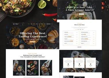 Restaurant Sitesi Tasarımı