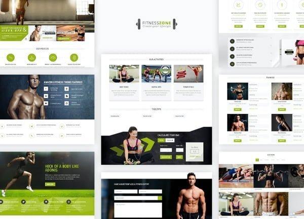 Spor Salonu Web Tasarım