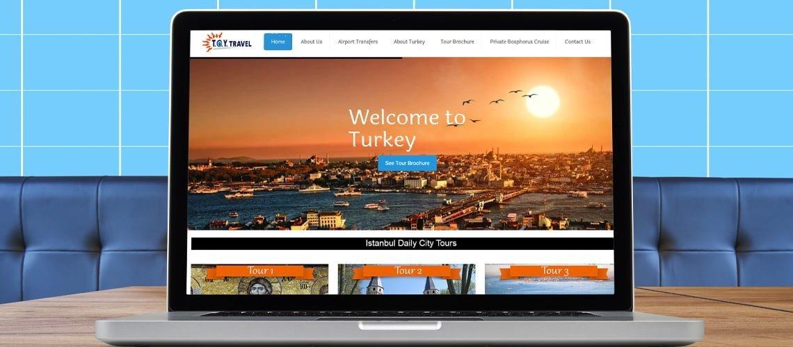 Toy Travel Web Sitesi